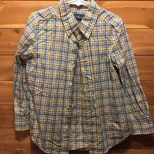 Boys Plaid Ralph Lauren Shirt (sz5)